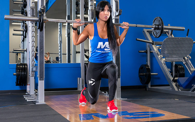 Exercises that wast time better choices lunge