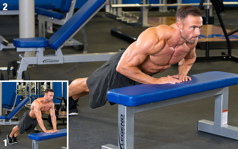 5 Most Effective Exercises for Building Triceps - Diamond Push Ups