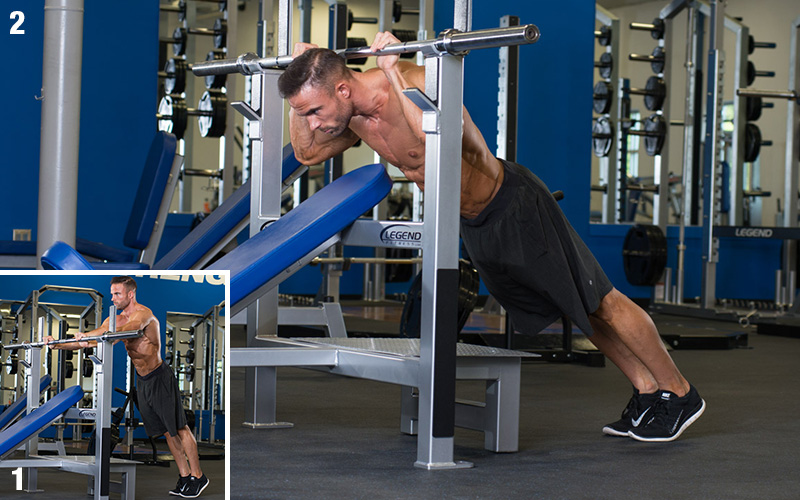 5 Most Effective Exercises For Building Your Triceps - Rack Press