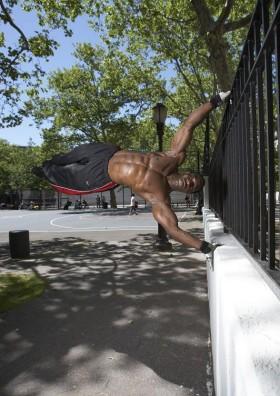 George HIT Richards defying gravity