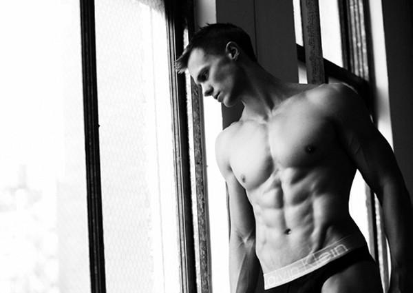 Tyler McPeak Calvin Klein model.
