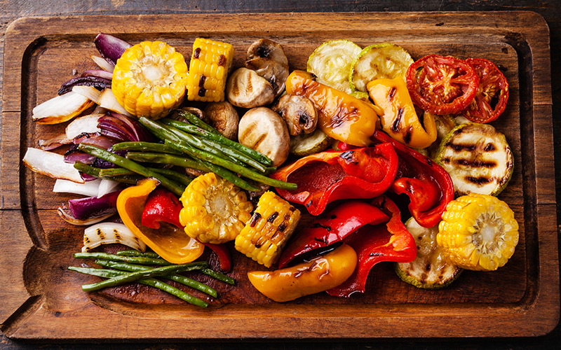 7 Cooking Secrets That Every Lifter Should Know - Roasted & Grilled Vegetables
