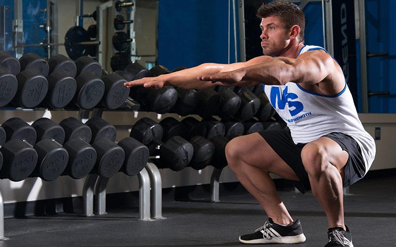 8 lies squatting