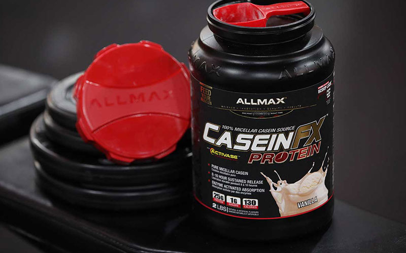Casein Protein an good option before bed