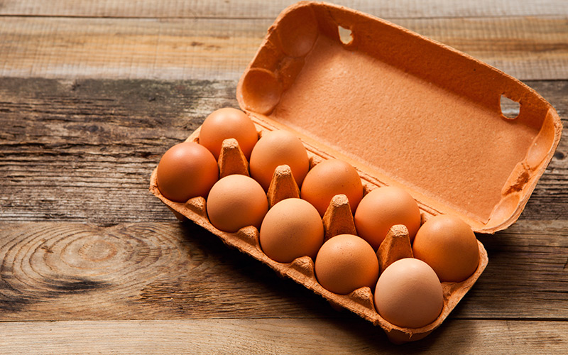whole eggs - a good, cheap protein source