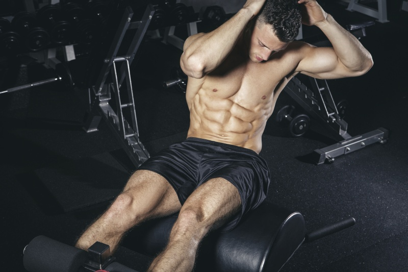Decline Bench Sit Ups
