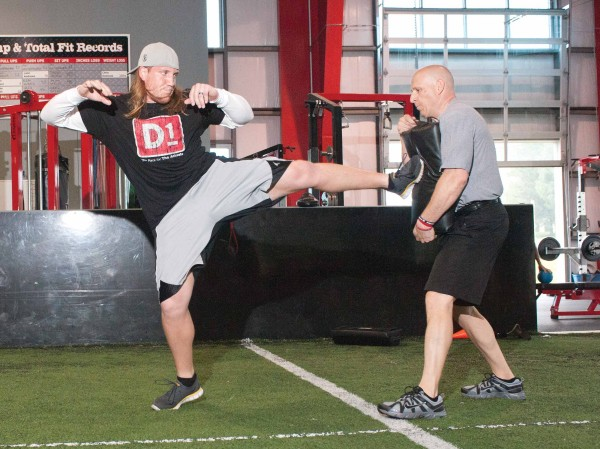 AJ Hawk Martial Arts Training
