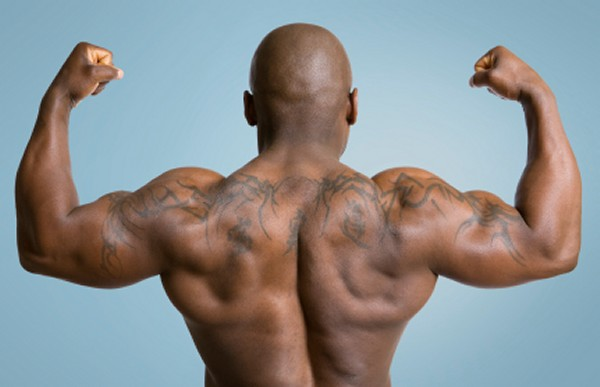 Many trainees will do countless sets for chest, but neglect their backs.