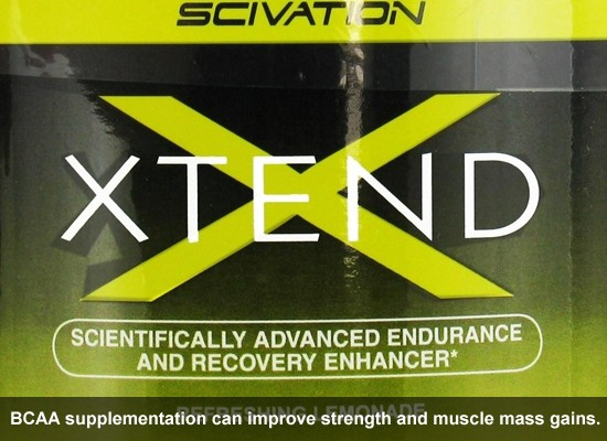 BCAA supplementation can improve muscle and strength gains.