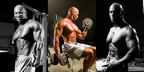 Bodybuilder Eric Broser