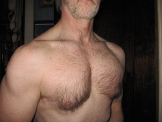 Dan Bergstrom's chest development.