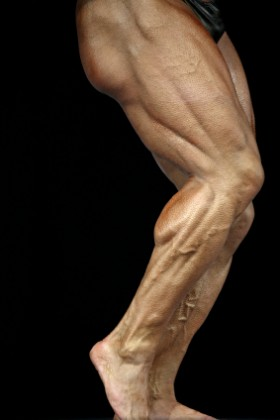 Strong hamstrings provide stability.