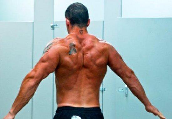 Joe Ohrablo Bodybuilder Back
