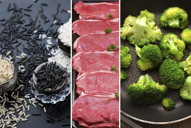 Lean Bulking Food Choices