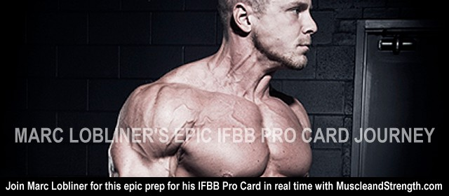Marc lobliner's Eipc IFBB Pro Card Journey