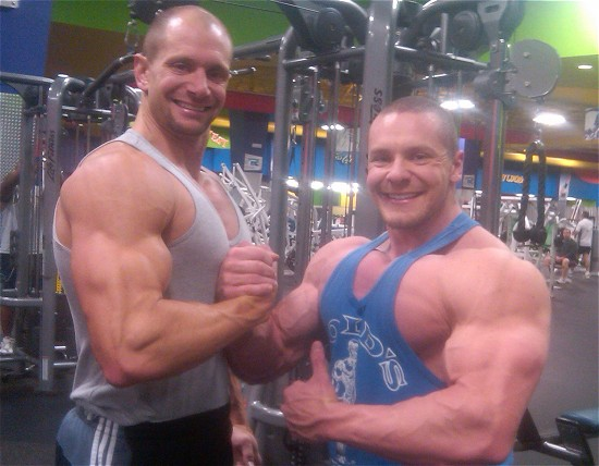 Marc Lobliner and his brother