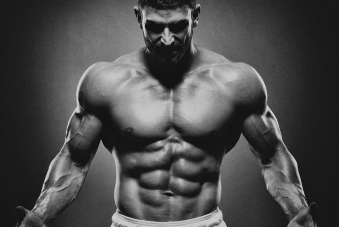 Muscular physique