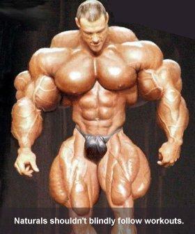 Natural Bodybuilding Workout