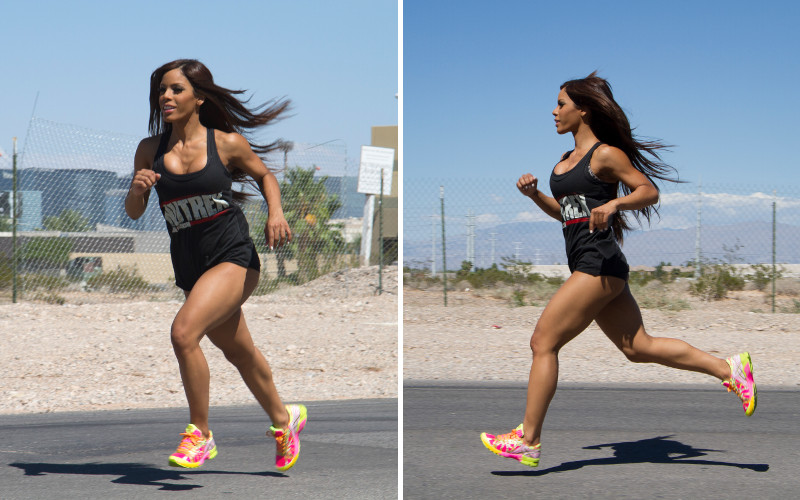 Nutrex Athlete Running
