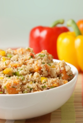 Tired of rice? Try quinoa.