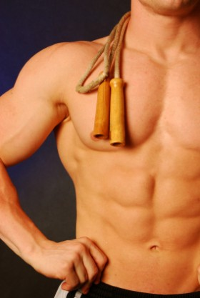 Shredded abs by Summer!