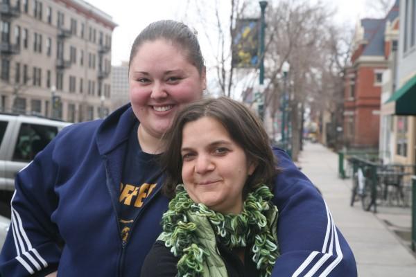 Julie Wyman and Cheryl Haworth