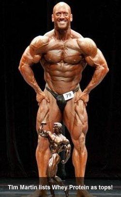 Tim Martin Loves Whey Protein