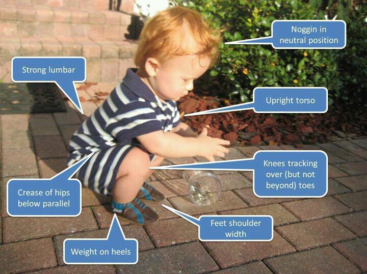 The Baby Squat Depth Argument