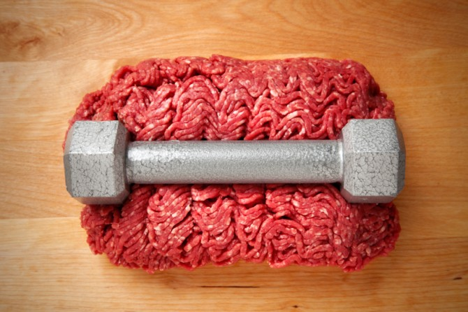 Beef and iron