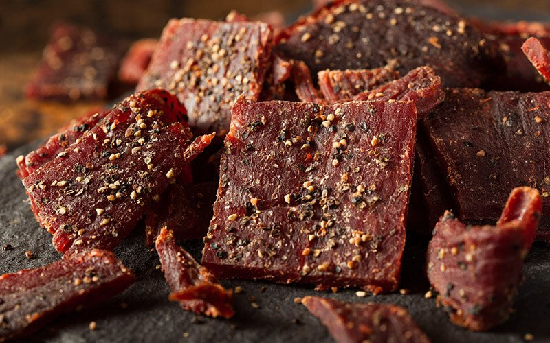 Make smarter snack choices with Beef Jerky