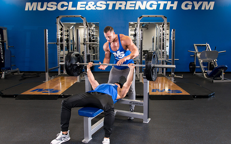 Set new bench press PRs with Explosive Warm Ups