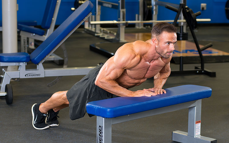 5 Best Chest Exercises Without Equipment Elevated Push Up