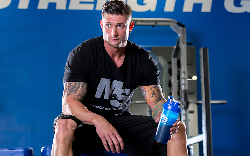 Best Supplements holding protein shaker