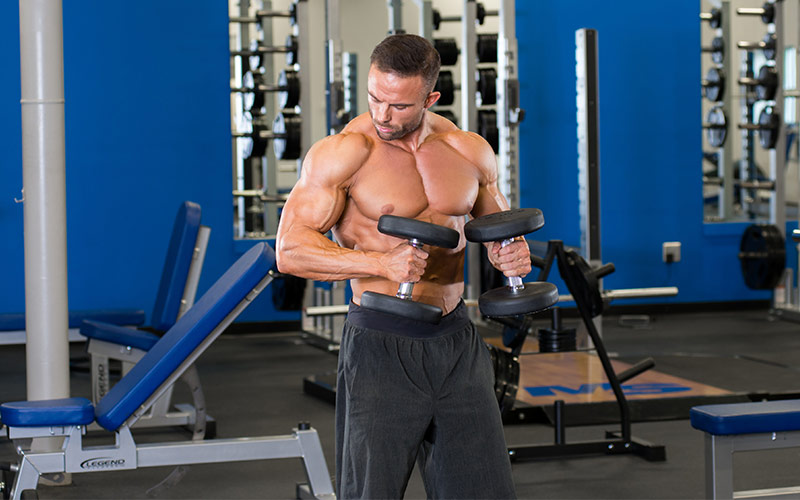 Bicep Finisher Hammer Curls
