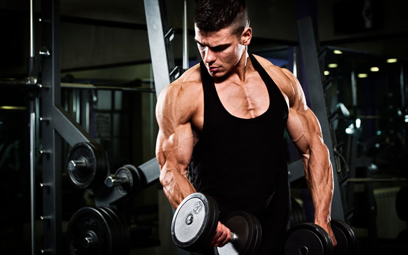 Biceps And Triceps Superset Workout