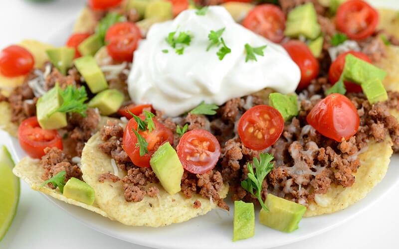Game Day Bulking Nachos Recipe