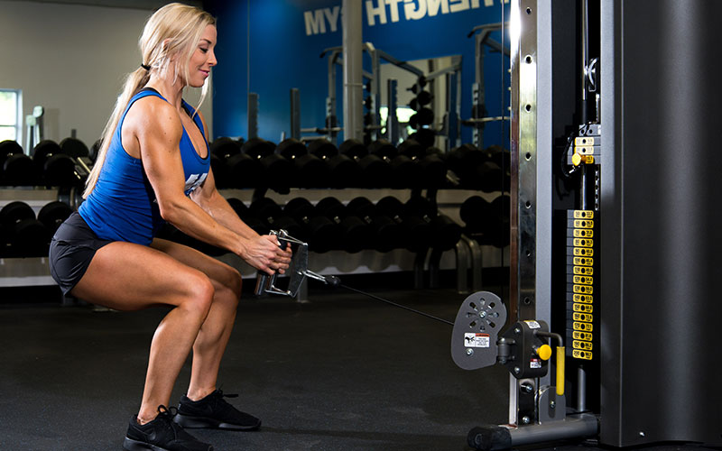 Cable Squat in the NAT Program