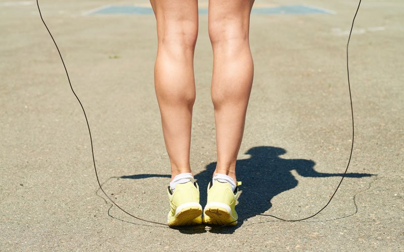 5 Brutal Calf Workout Finishers - Jump Rope