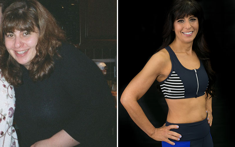 Charlene Bazarian Transformation Comparison 1
