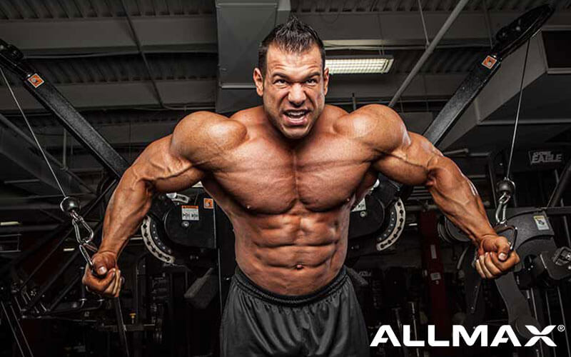 Allmax Athlete Steve Kuclo Performing Chest Flys