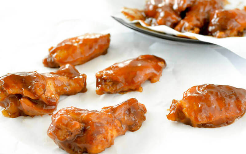 Honey BBQ Slow Cooker Chicken Wings Recipe