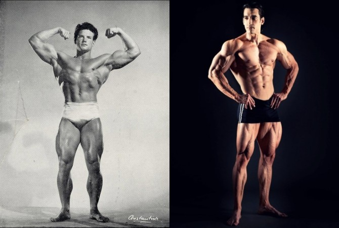 Classic and Modern Bodybuilders