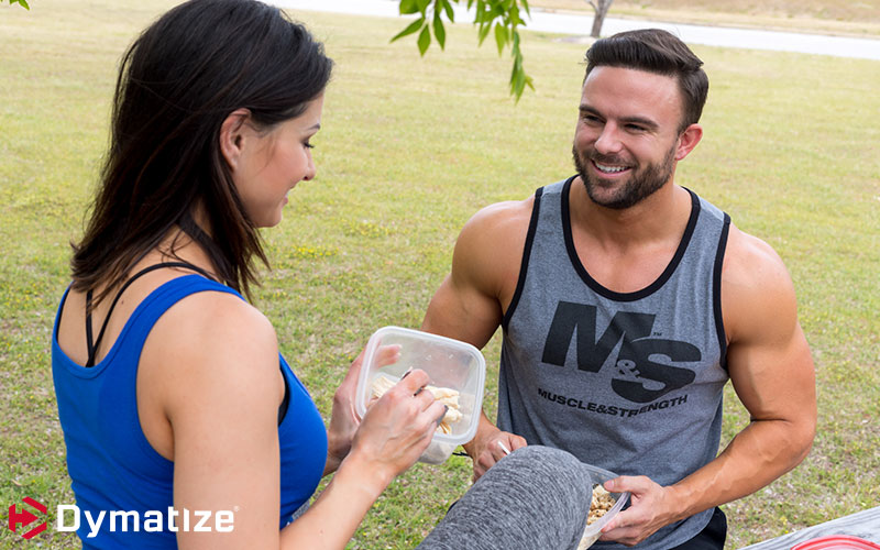 Dymatize athlete Brett Kahn Making Proats