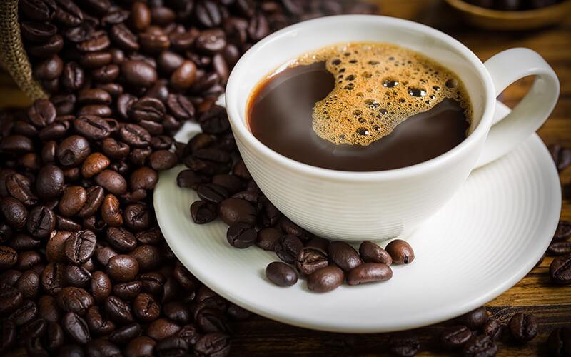 A pesquisa mostrou que o consumo de café é bom para os níveis T