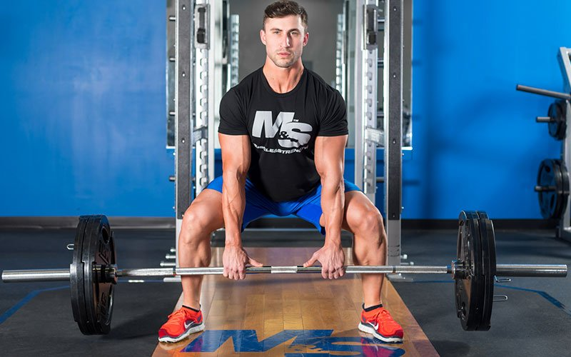 M&S Athlete Taking Posterior and Glute Training Seriously