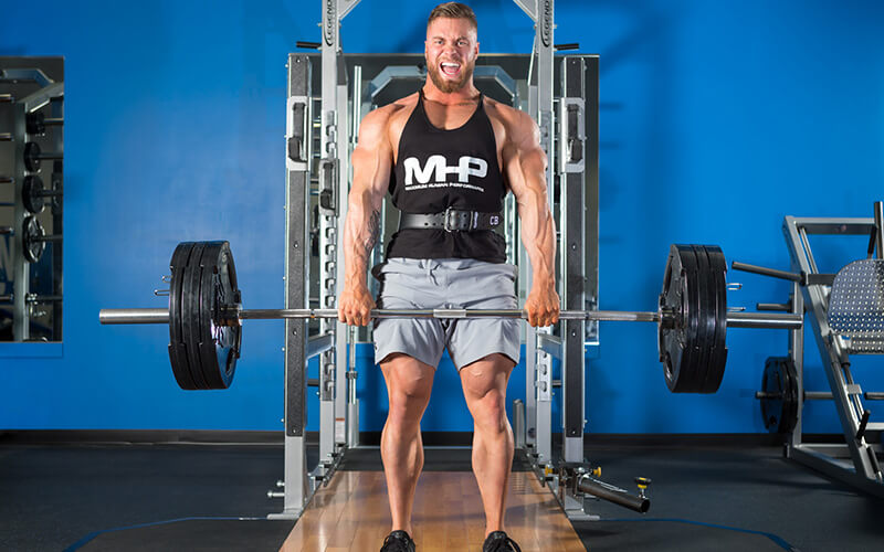 MHP Athlete Achieving Progressive Overload on Deadlifts