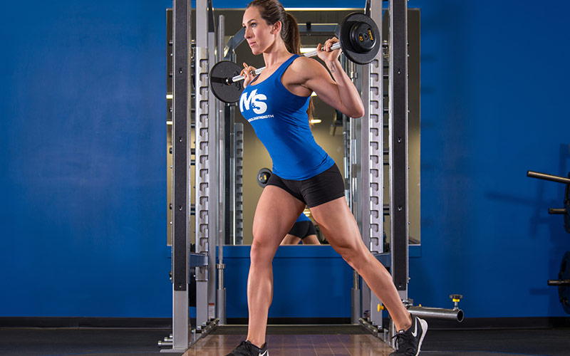 Density Training Circuit: Reverse Lunges