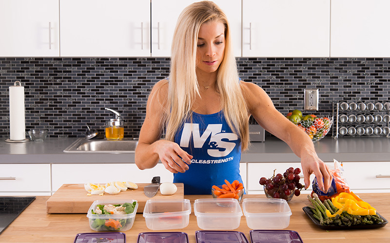 M&S Female athlete prioritizing micronutrition