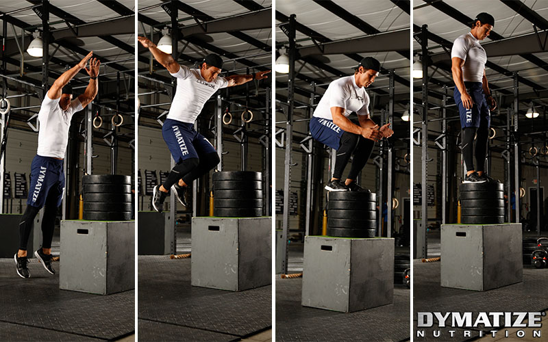 Dymatize Athlete Box-Jumping