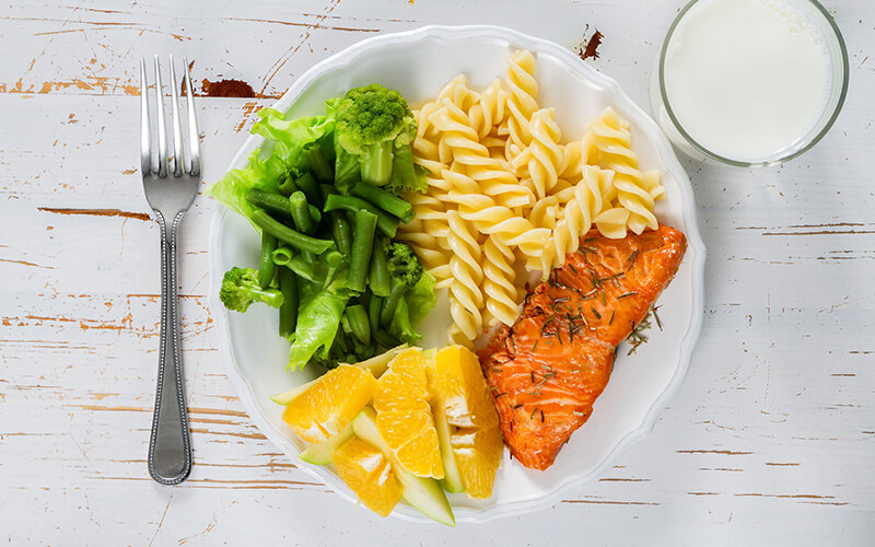 Using Smaller Plates to Eat Off of can help remove calories from diet